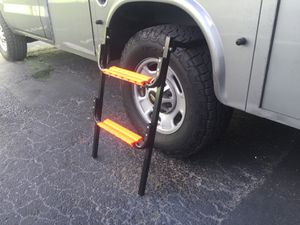 2 Step Tire Ladder Folding Fits Tire Width Up To 3O inch diameter for Sale in Fort Lauderdale, FL