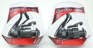 2 Quantum Optix OP4f 4:7.1 Spinning fishing reel new in factory package for Sale in Litchfield Park, AZ