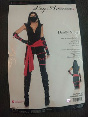 Women's ninja Halloween Costume - small for Sale in Dunwoody, GA