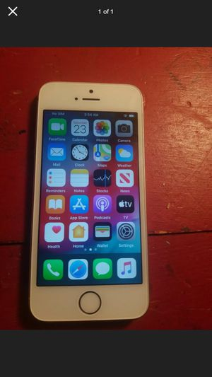IPhone SE no iCloud/Activation lock for Sale in Marion Junction, AL
