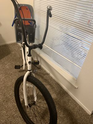 Beach cruiser with speeds and toddler seat for Sale in San Angelo, TX