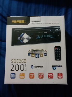 Car radio SSL BRAND NEW for Sale in Detroit, MI