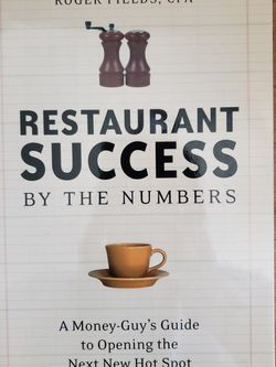 Restaurant Success By The Numbers Book for Sale in Pico Rivera,  CA
