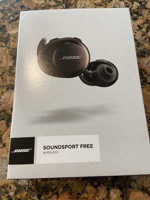 Bose Soundsport Free Wireless Headphones for Sale in Pembroke Pines, FL