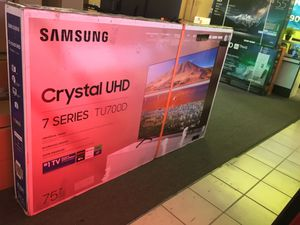 "75"" Samsung Smart 4K UHD Led HDR tv 2160p for Sale in Lake Elsinore, CA"