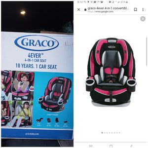 Graco 4Ever 4-in-1 Convertible Car Seat, Azalea for Sale in Barberton, OH