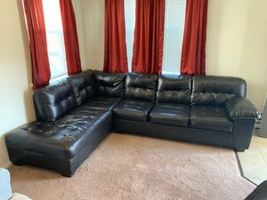 Sectional Couch & Ottoman for Sale in Langley Air Force Base, VA
