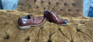 Stacy Adams Desmond Cap-Toe Monk-Strap Loafer Men's Shoes Cognac for Sale in Austin, TX