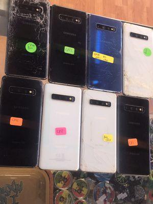 Broken Samsung galaxy s10 parts or repair for Sale in Lauderhill, FL