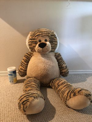 Giant Tiger Teddy Bear for Sale in Raleigh, NC