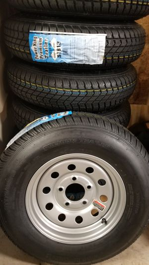 NEW TRAILER TIRES AND WHEELS STARTING AT $70+TAX AND UP for Sale in Douglasville, GA