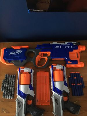 3 Nerf gun bundle for Sale in Manassas, VA