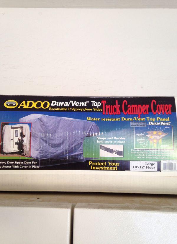 ADCO DURA VENT TRUCK CAMPER COVER
