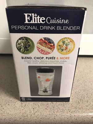 Elite Cuisine Personal Blender for Sale in Jonesboro, GA