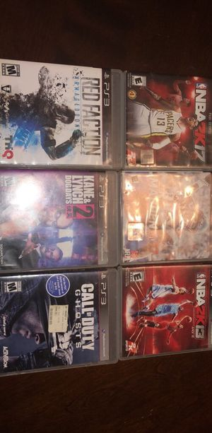 PS3 GAMES (All For $25) for Sale in Battle Creek, MI