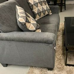 ASHLEY abinger smoke sofa and loveseat for Sale in Houston,  TX