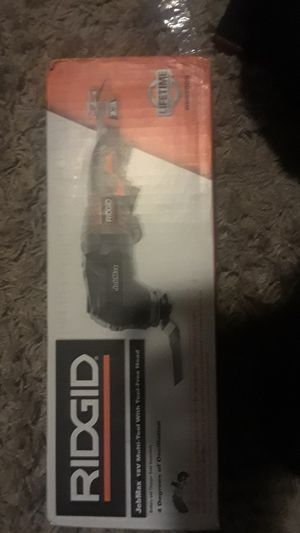 ridgid jobmax 18v multi-tool with tool-free head for Sale in Portland, OR