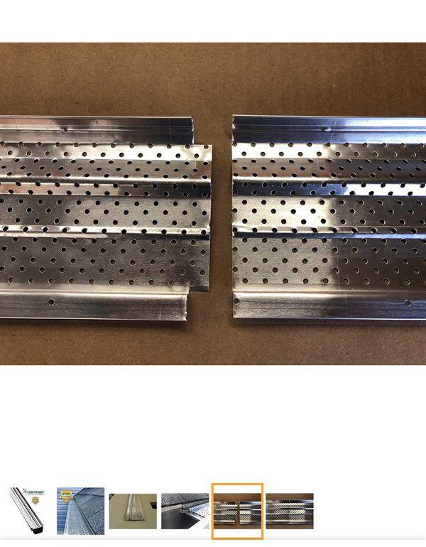 A M Aluminum Gutter Guard 5 200 Mill Finish
