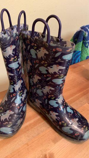 Girls Unicorn Rain Boots for Sale in Austin, TX