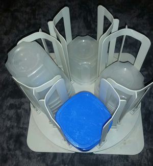 Food Storage Containers with Cabinet Slide Out Tray for Sale in Elk Grove, CA