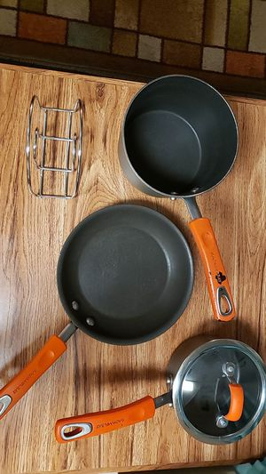 5 Piece Rachael Ray Cook Ware for Sale in Nashville, TN
