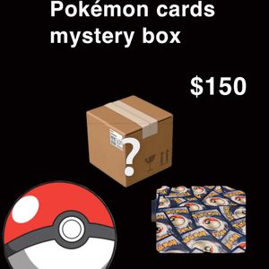 Pokémon Mystery Box 150 $ for Sale in Oregon City, OR