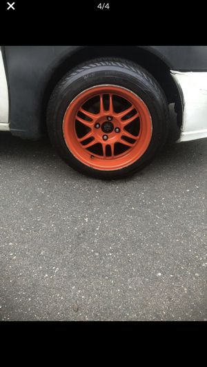 15 inch rims with a extra tire for Sale in Hartford, CT