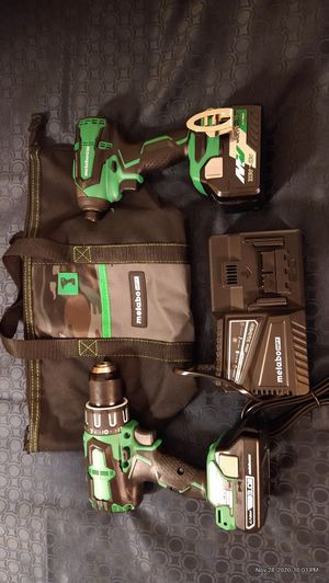 Metabo HPT Hammer drill & Impact Driver Cordless Combo for Sale in Tampa, FL