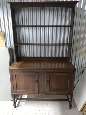 ANTIQUE Buffet China holder for Sale in Glenview, IL