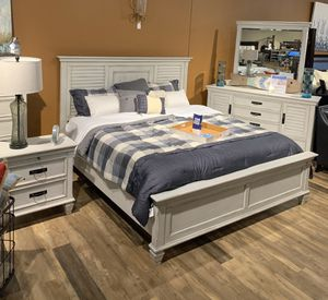 NEW King or Queen White Oak/Pine Bed Frame - Sets Available for Sale in Charleston, SC