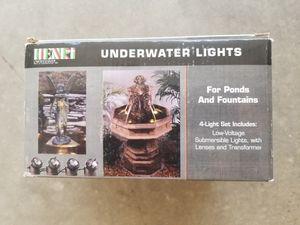 Henri Underwater 4 light set for Sale in Ontario, CA