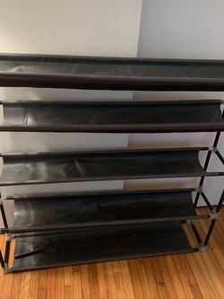 Shoe rack closet organizer for Sale in Brooklyn,  NY