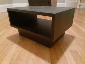 Nightstand Set/Dark Carbon/Chestnut for Sale in Seattle, WA