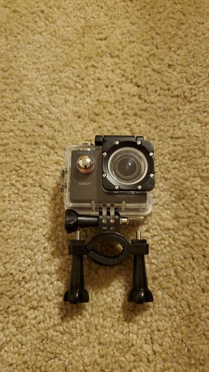 Gopro with case and holder for Sale in Midland, MI