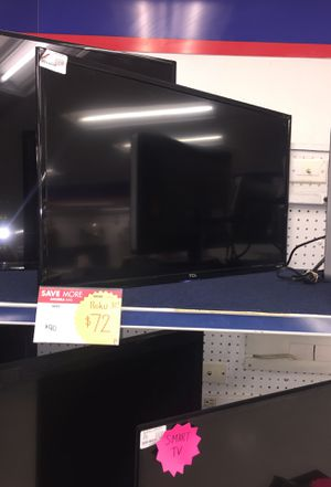TCL ROKU TV for Sale in Dallas, TX