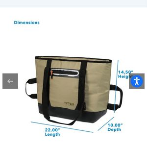 Brand New Titan Soft Cooler for Sale in Hesperia, CA