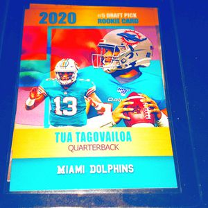 Tua TAGOVAILOA MIAMI DOLPHINS LIMITED EDITION for Sale in Buffalo, NY
