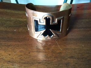Copper cuff with Thunderbird for Sale in Sierra Vista, AZ