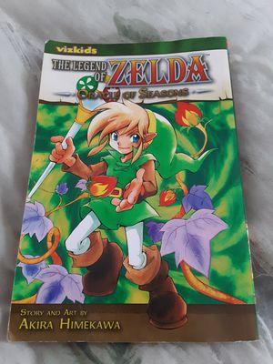 "The legend of Zelda ""Oracle of seasons"" manga for Sale in Saginaw, MI"