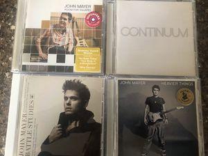 John Mayer CDs, 4 total. for Sale in Marysville, WA