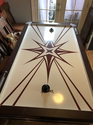 Air hockey table full size . $175. Firm for Sale in Seattle, WA
