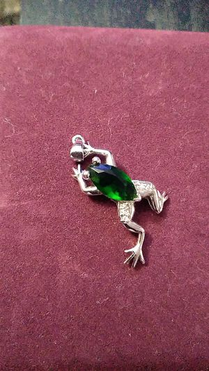 Frog Charm for necklace for Sale in Seattle, WA