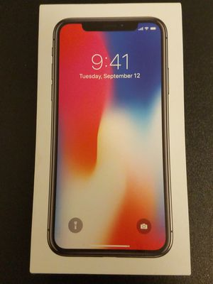 iPhone x at&t for Sale in Brooklyn, NY