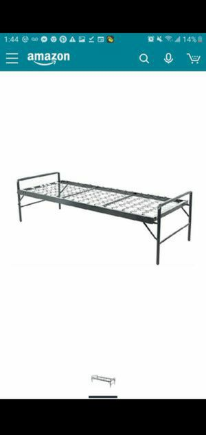 metal bed frame collapsible for Sale in Norman, OK
