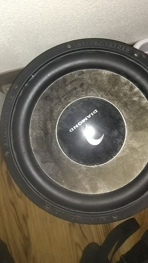 Diamond audio speaker 12inch sub for Sale in Tacoma, WA