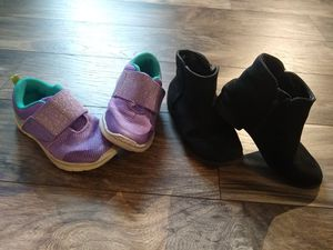 Girls size 10 children's shoes and boots for Sale in Phoenix, AZ