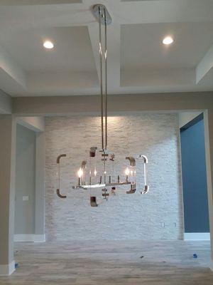Brand new chandelier never used for Sale in Jacksonville, FL