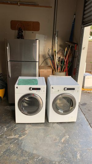 Washer dryer & refrigerator for Sale in Fremont, CA