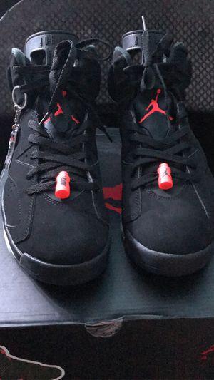 Jordan 6s Infrared size 10.5 for Sale in Dallas, TX