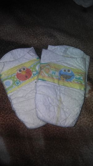 Sesame street diapers for Sale in Chula Vista, CA